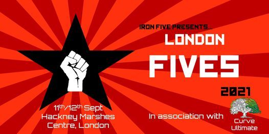 Iron Five presents. London Fives, 11 September   Event in London   AllEvents.in