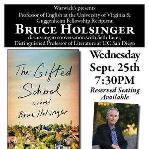 Bruce Holsinger with Dr. Seth Lerer - The Gifted School