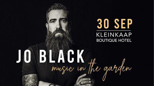 Jo Black - Music in the Garden, 30 September   Event in Pretoria   AllEvents.in
