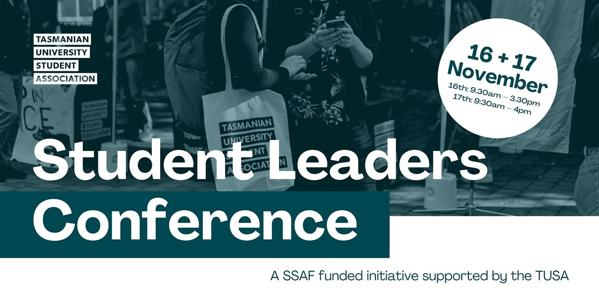 Student Leaders  Conference, 16 November | Event in Hobart | AllEvents.in