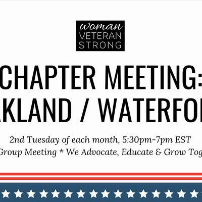 Woman Veteran Strong Chapter Meeting (OaklandWaterford)