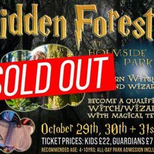 Forbidden Forest Halloween Spectacular Magical Adventure at Holmside Park