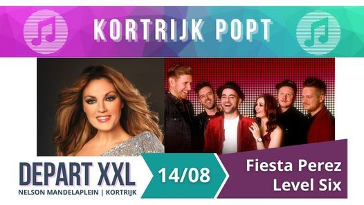 Kortrijk Popt: Fiesta Perez en Level Six - DepartXXL, 14 August | Event in Kortrijk | AllEvents.in
