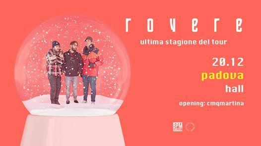 Rovere  20.12 Hall Padova