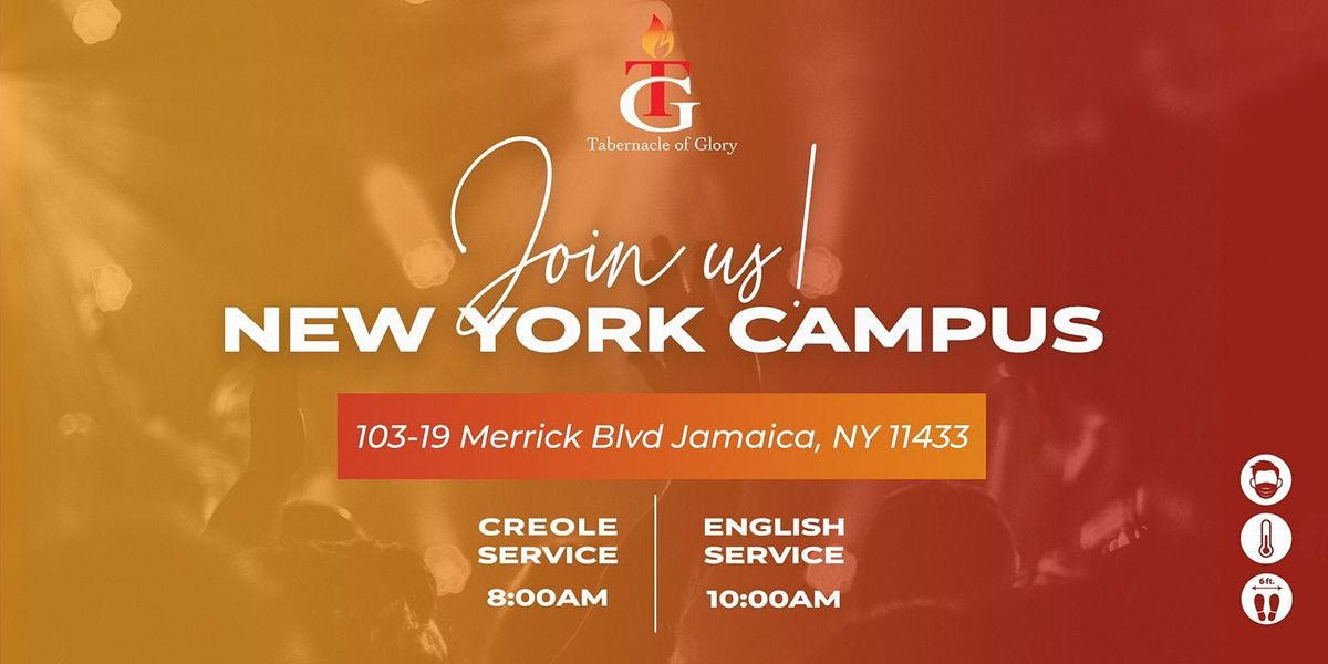 TG New York  - Sunday, January 3rd, 10:00 AM Service | Event in Jamaica | AllEvents.in