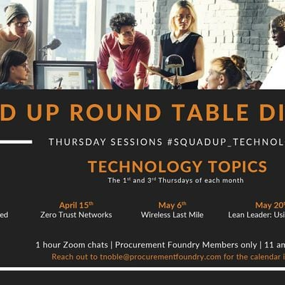 Squadup Round Table Discussion IT -  1st and 3rd Thursdays of the month