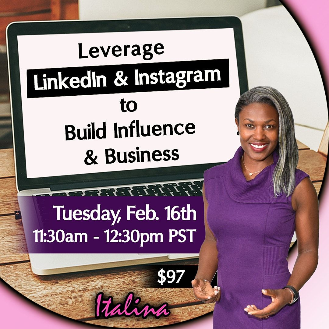LinkedIn - Instagram - Clubhouse to Build Business & Influence, 28 June | Online Event | AllEvents.in