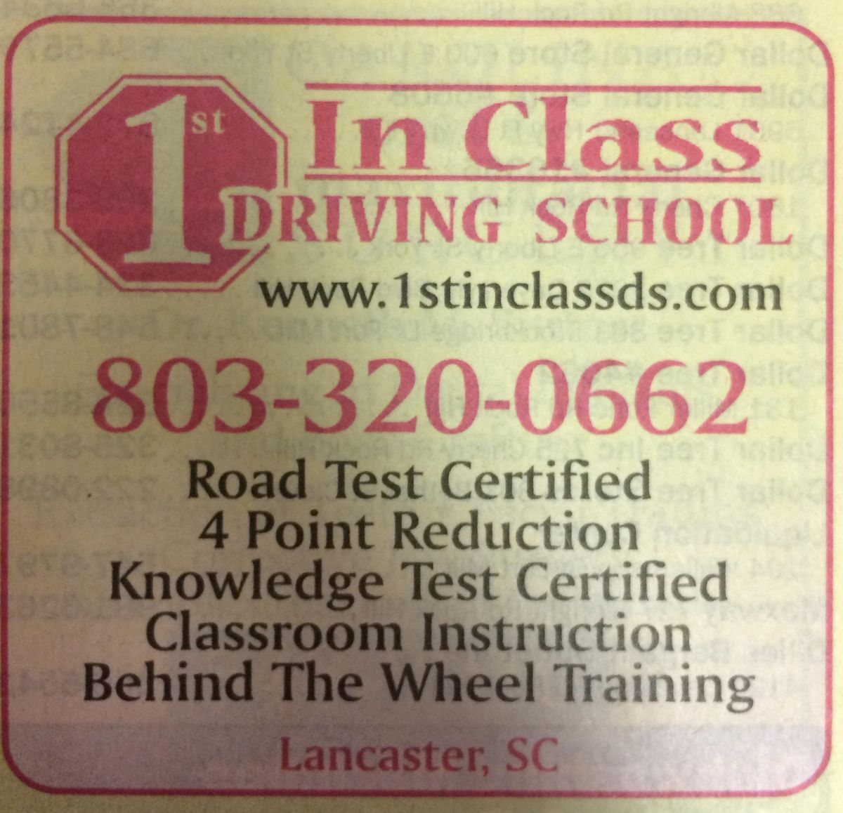 Teen Driver Training Class, 14 November | Event in Lancaster | AllEvents.in