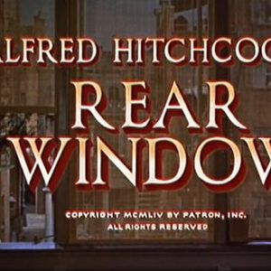 Movie Night Rear Window