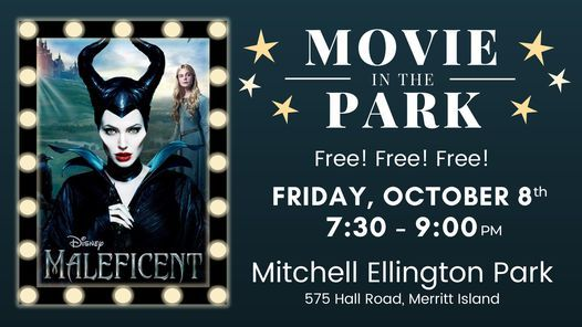 FREE! Movie in the Park - Maleficent (PG), 8 October | Event in Cape Canaveral | AllEvents.in