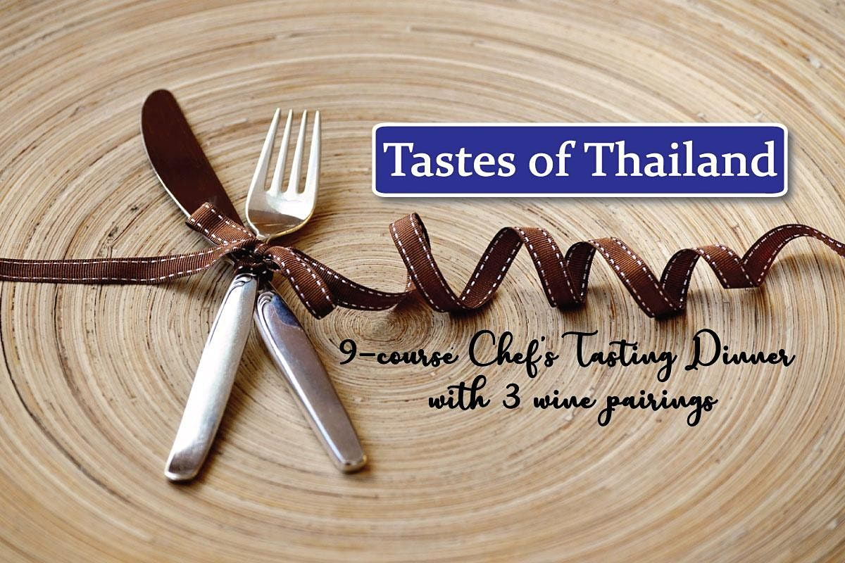 Tastes of Thailand | 9-course Chef's Tasting Menu + 3 Wine Pairings, 27 March | Event in Philadelphia | AllEvents.in