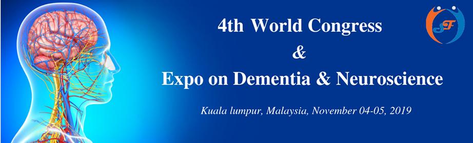 4th World Congress & Expo on Dementia & Neuroscience