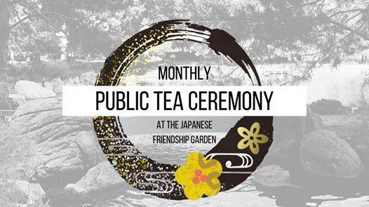 JFG Monthly Public Tea Ceremony
