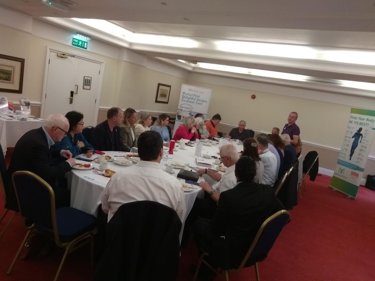 ONLINE BUSINESS NETWORKING with a GUARANTEED closed 1-2-1 meeting Omni Business Breakfast Networking Meeting - Kingston