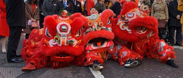 Newcastle Chinese New Year 2020.  Year of the Rat