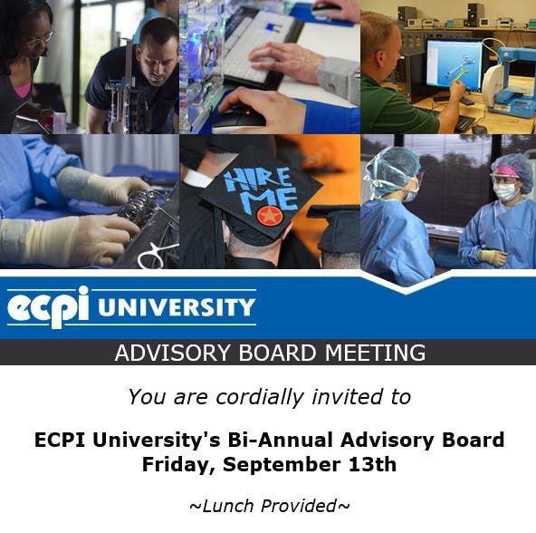 ECPI University Nursing Advisory Board September 13th 2019