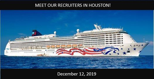 Norwegian Cruise Line Recruiting Event in Houston TX