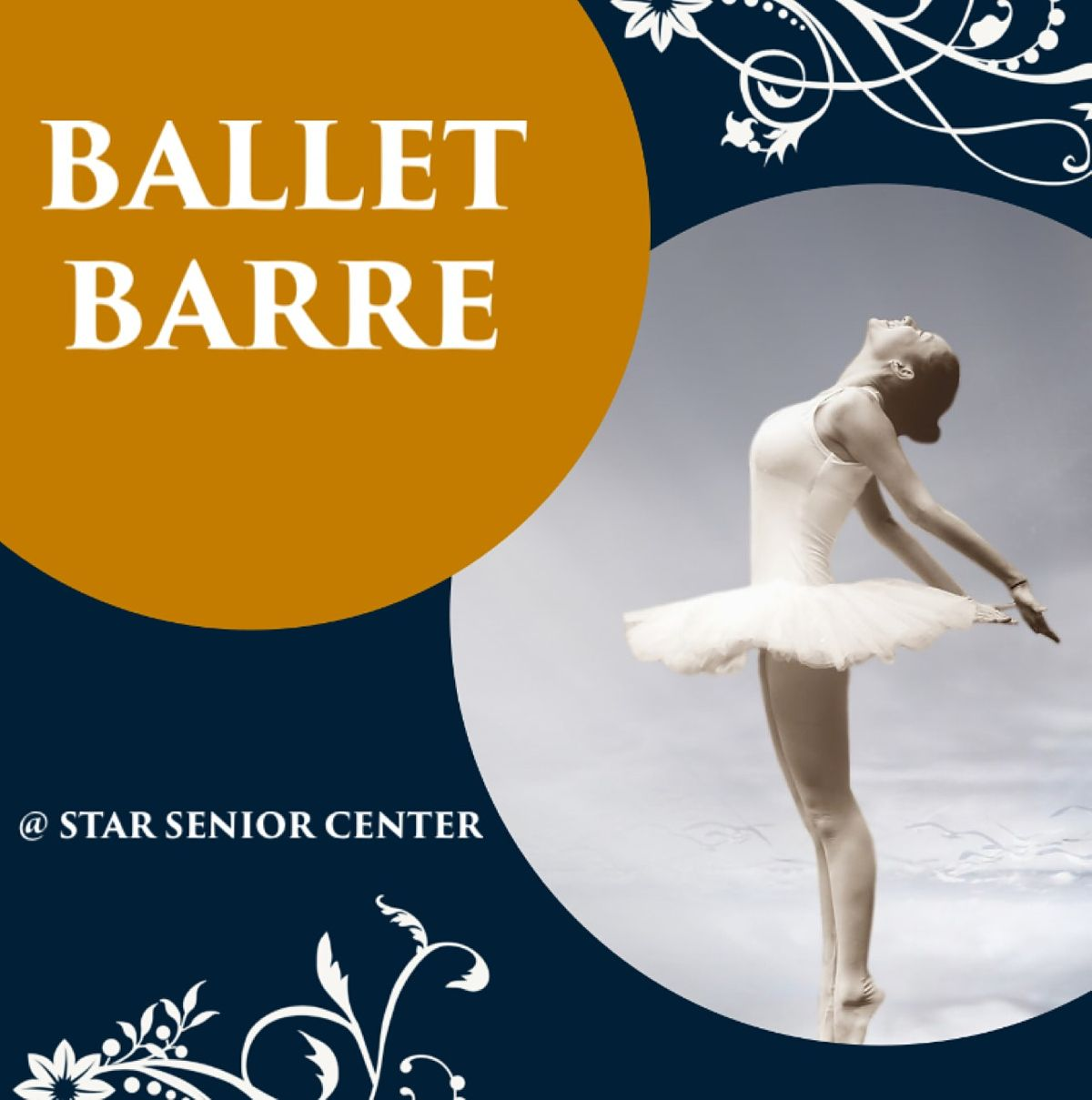 Age 60+ Ballet Class   Online Event   AllEvents.in