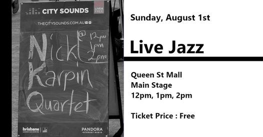 City Sounds - NKQ Jazz Quartet | Event in West End | AllEvents.in