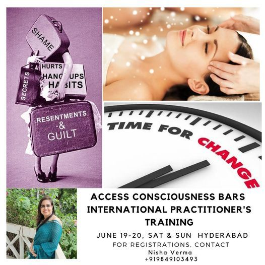 Access Consciousness Bars Practitioner Training, 19 June | Event in Hyderabad | AllEvents.in