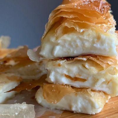Greek Fillo & Cheese Bougatsa Class