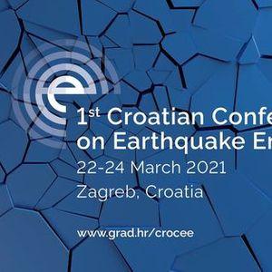 1CroCEE 2021 - 1st Croatian Conference on Earthquake Engineering