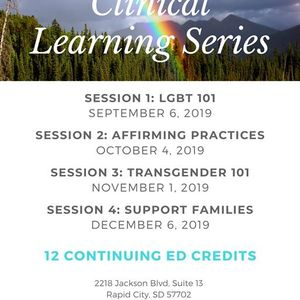 Lgbtqia Clinical Learning Series - Session 1 LGBT 101