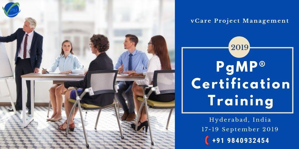 PgMP Training  Hyderabad  India  September  2019
