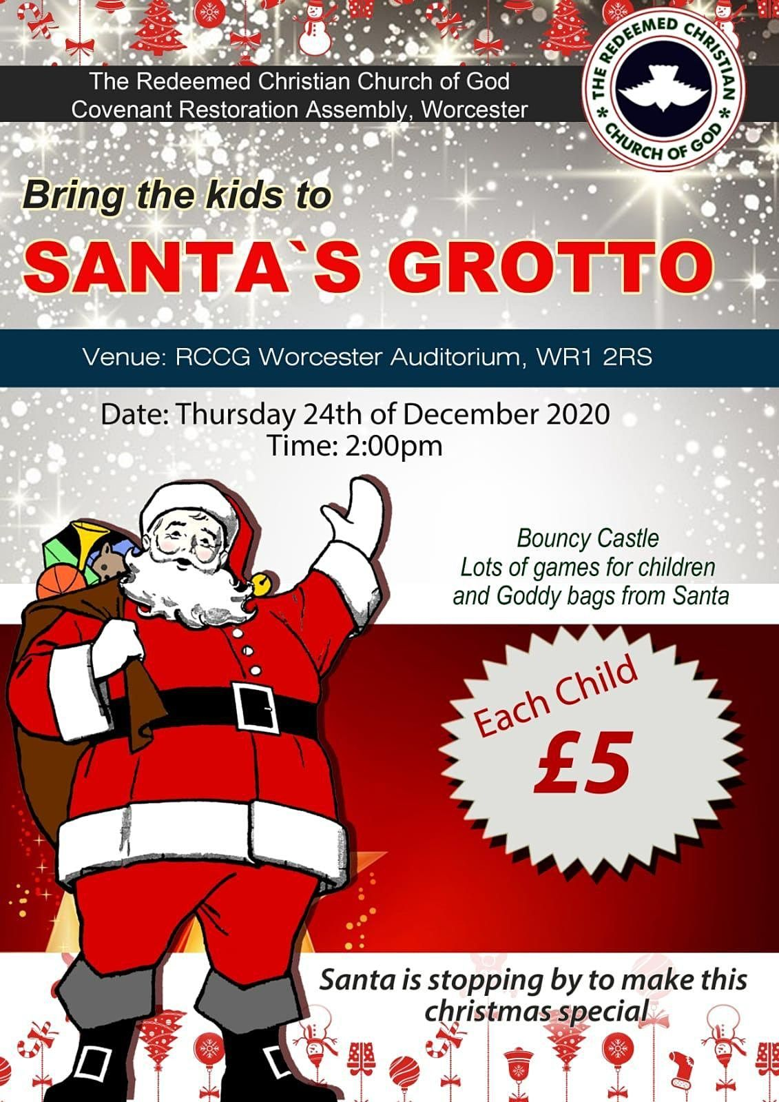 RCCG WORCESTER CHRISTMAS GROTTO, 24 December | Event in Worcester | AllEvents.in