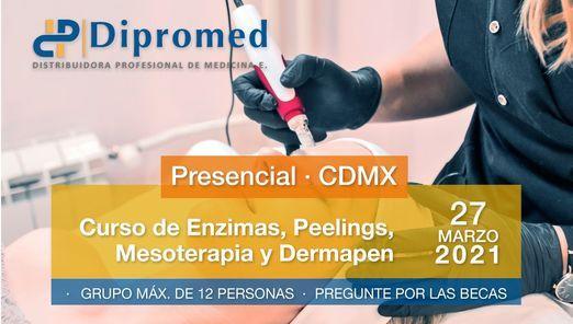 Curso de Enzimas, Peelings, Mesoterapia y Dermapen- CDMX, 27 March | Event in Mexico City | AllEvents.in