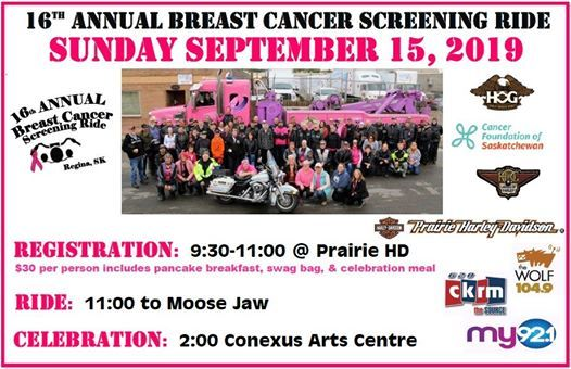 Annual Ride for Breast Cancer Screening
