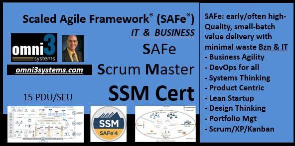 SSM-Cert-SAFe-Scrum MasterChicago-Business-agile-XP-kanban-product-PMI