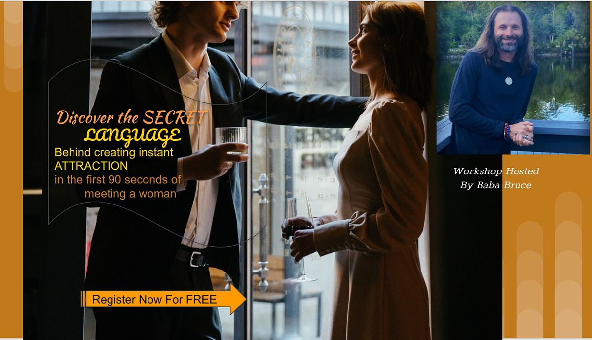 FREE MASTERMIND Secret Language  Creating Instant Attraction w a woman BH | Event in Birmingham | AllEvents.in