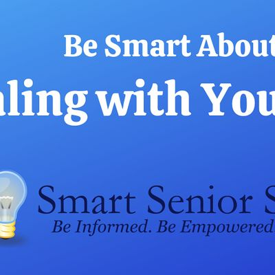 Smart Senior Series Be Smart About Dealing with Your Stuff