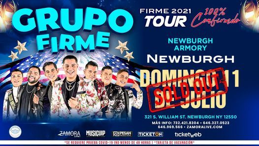 GRUPO FIRME - Tour 2021, 11 July   Online Event   AllEvents.in