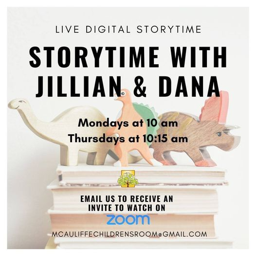 Live Digital Storytime with Jillian and Dana | Online Event | AllEvents.in