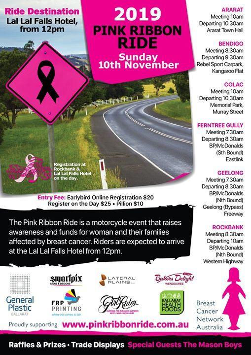 2019 Victorian Pink Ribbon Ride