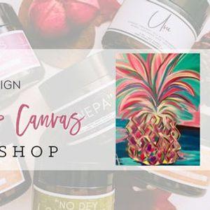 Candles & Canvas Workshop