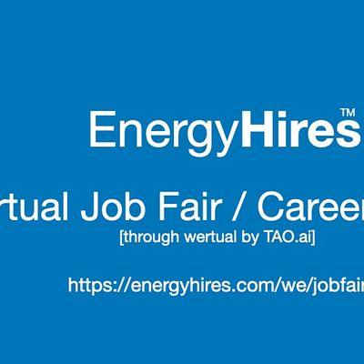 EnergyHires Virtual Job Fair  Career Expo Event Sacramento