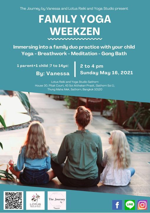 FAMILY YOGA WEEKZEN, 16 May   Event in Bangkok   AllEvents.in