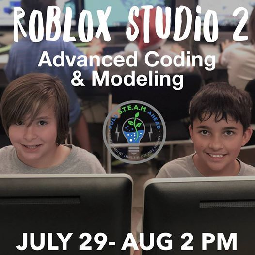 Roblox Studio 2 Advanced Coding & Modeling-Summer Camp at Full STEAM