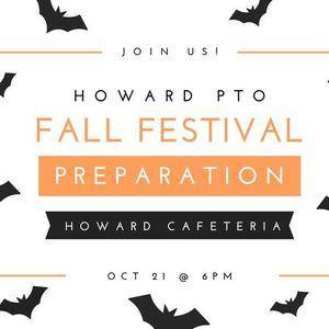 October Meeting- Fall Festival Prep