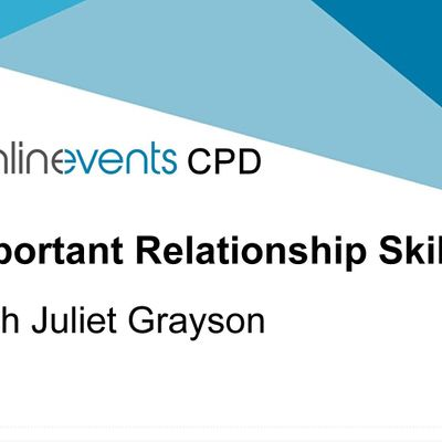 The Most Important Relationship Skill workshop with Juliet Grayson Part 2