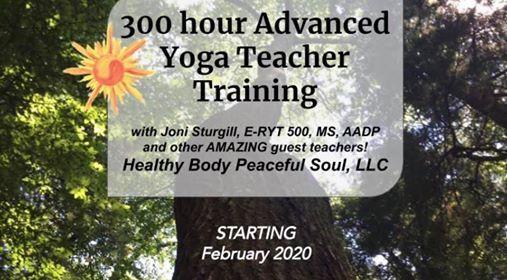 300 Hour Advanced Yoga Teacher Training