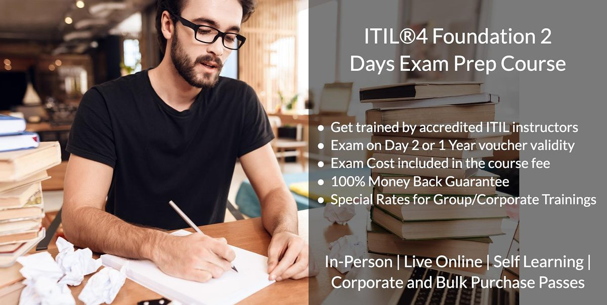 ITIL®4 Foundation 2 Days Certification Bootcamp in Halifax, NS, 24 March | Event in Halifax | AllEvents.in