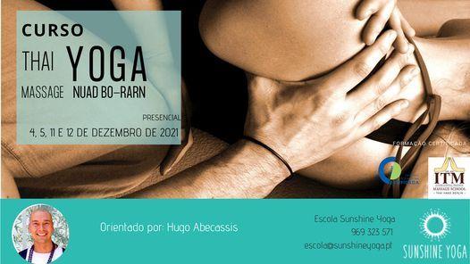Curso Thai Yoga Massage - Nuad Bo-Rarn, 3 December   Event in Lisbon   AllEvents.in