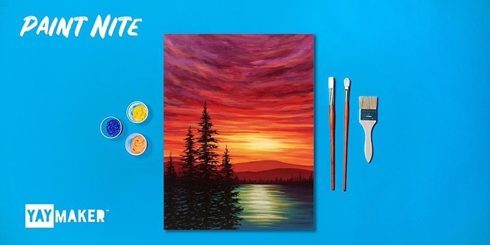 Virtual: Paint Nite: The Original Paint and Sip Party, 28 August | Online Event | AllEvents.in