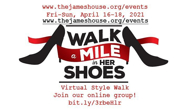 Walk a Mile in Her Shoes, virtual style | Online Event | AllEvents.in