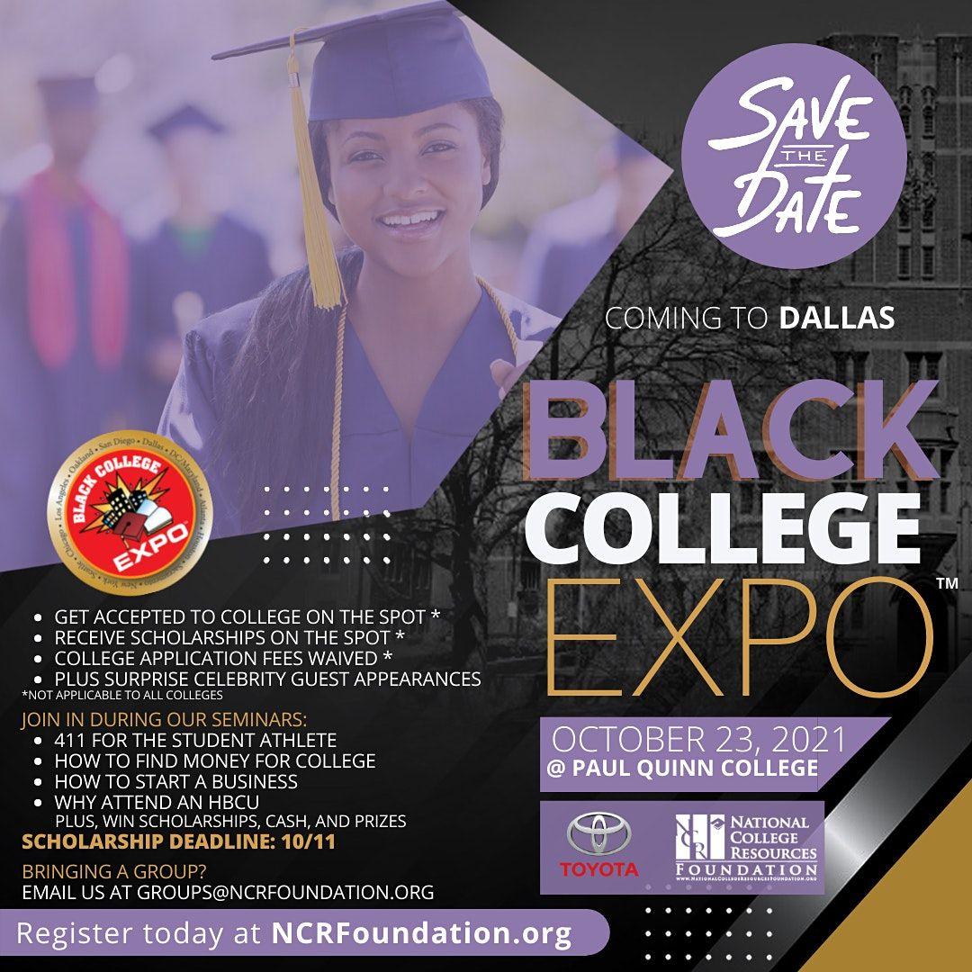 Back LIVE in PERSON 4th Annual Dallas Black College Expo   Event in Dallas   AllEvents.in