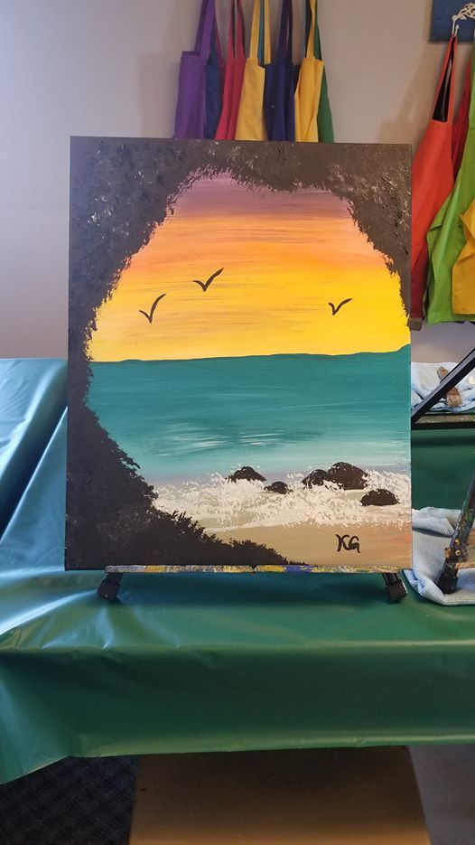Canvas Paint and Sip Class